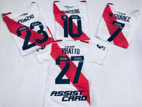 Camiseta river plate 2019-2020