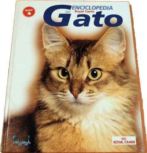 Enciclopedia Gigante, Hermosa De Gatos, Hojas Satinadas