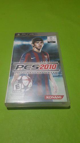 Juego De Psp Pro Evolution Soccer 2010
