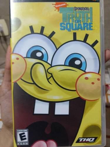 Juego Psp Spongebob Original Físico Usado!