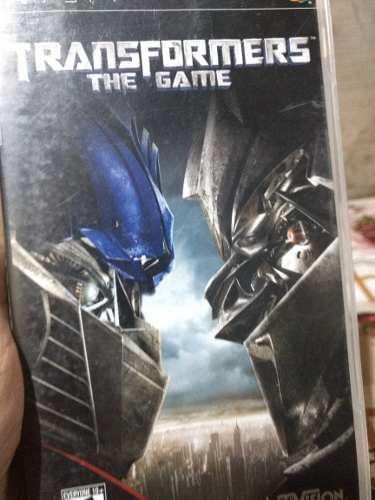 Juego Psp Transformers The Game Original Físico Usado