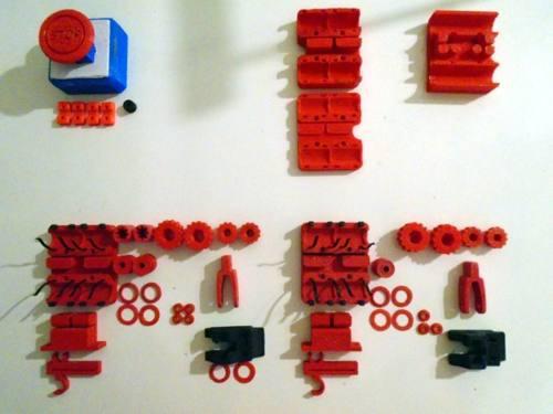 Plásticos Varios Impresoras 3d Prusa I3 Rework Accesorios