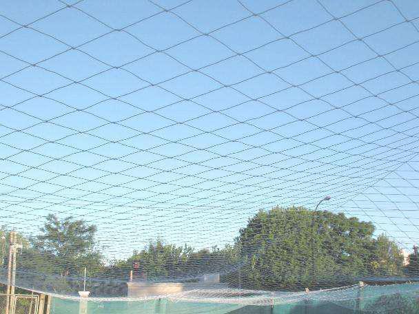 Red cerramiento canchas arcos polietileno de 12 x 12 cm