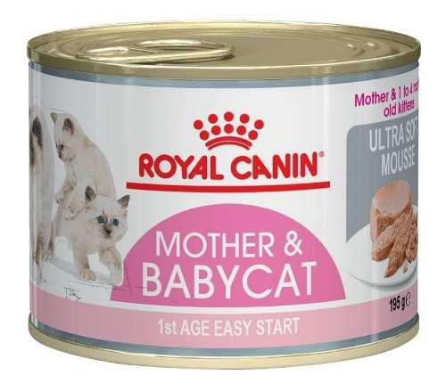 Royal Canin Mother Y Baby Cat Ultra Soft Mousse X 195 Gr