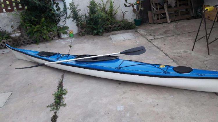 Vendo kayak de travesía y recreación single indo