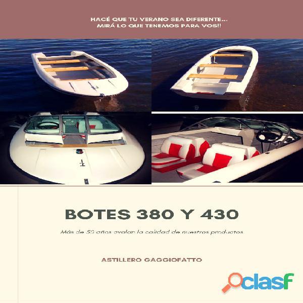 Botes pescadores 380 y 430