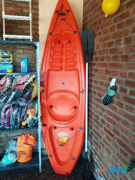 Kayaks Simples y Dobles