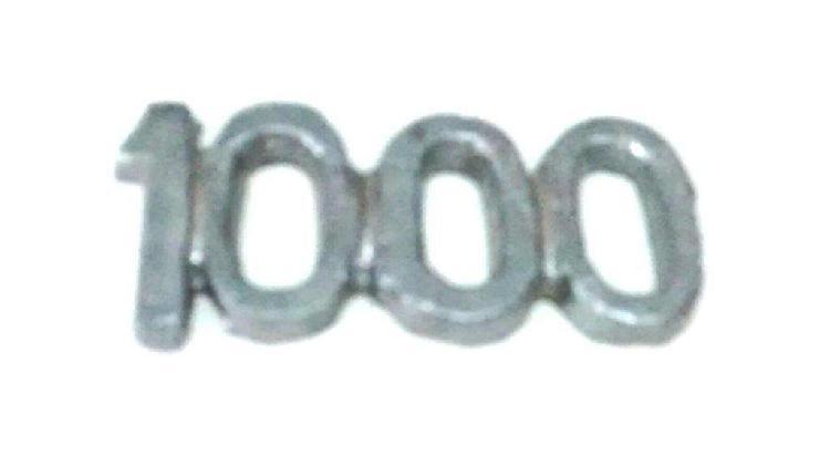 Numero 1000 sapo