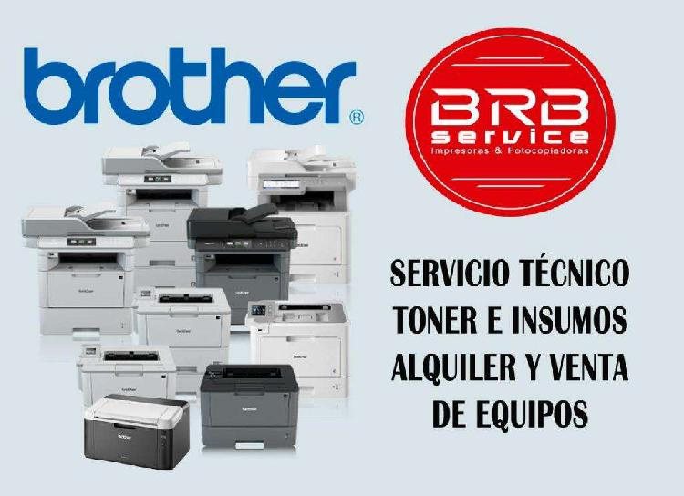 Reparacion de impresoras brother, venta y alquiler