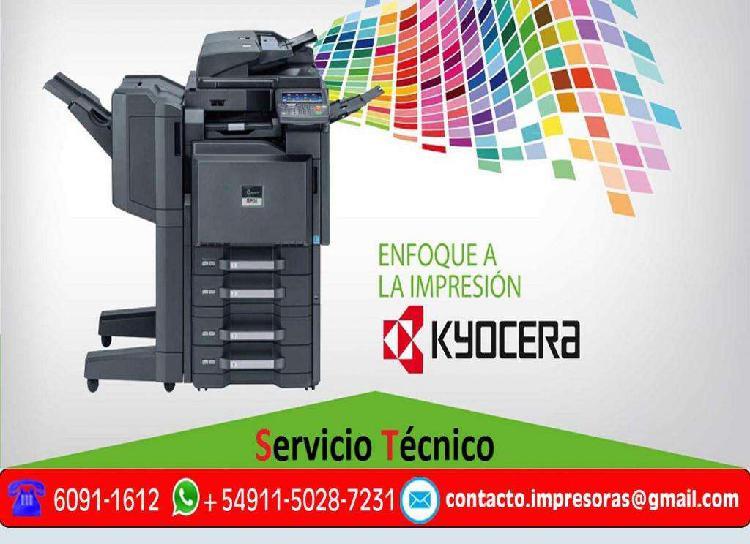 Servicio tecnico reparacion de impresoras fotocopiadoras