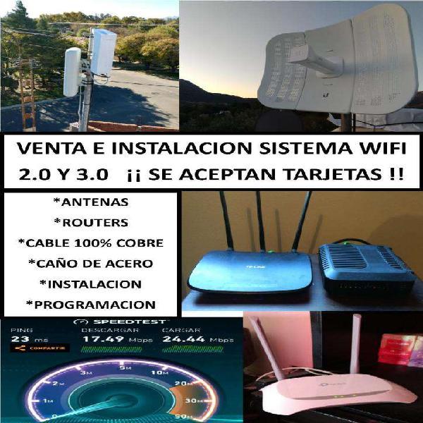 Wifi 3.0 y 2.0