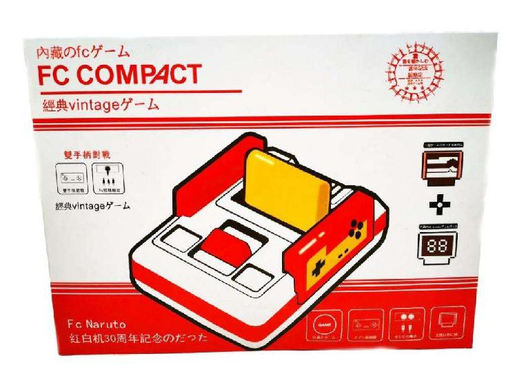Consola nintendo family fc compact nueva!