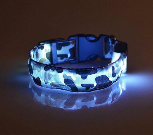 Collares para mascotas con luz de led perros gatos