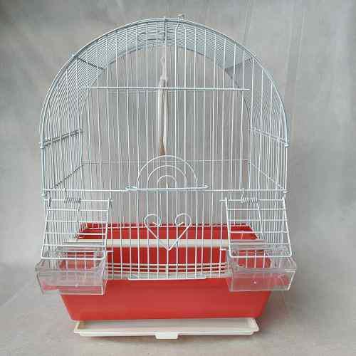 Jaula para pájaros aves completa con bandeja de plastico