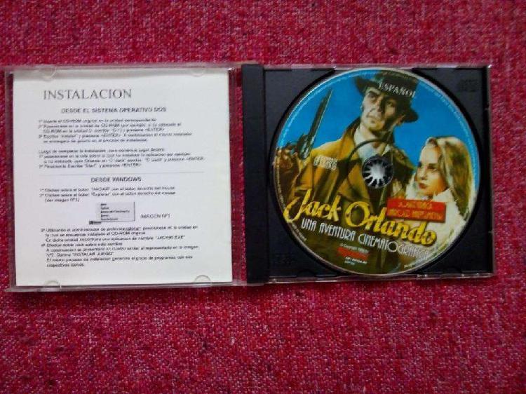 Juego de pc: jack orlando (1998)