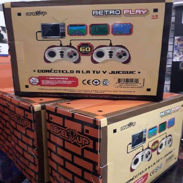Retro play, conectala a tu tele y juga!!!!