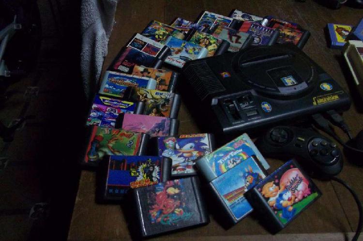 Sega 16bit - juegos y joysticks