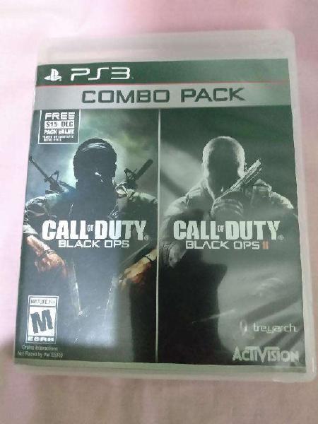 Vendo juego de play 3, (combo pack)