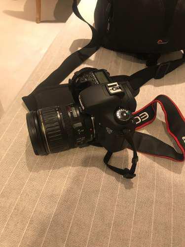 Camara canon eos 7d + lente ultrasonic 28 usada solo 24hs