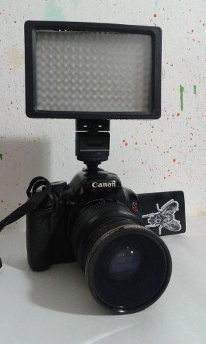 Canon t3i + lente 18-55 + 70-300sigma + accesorios