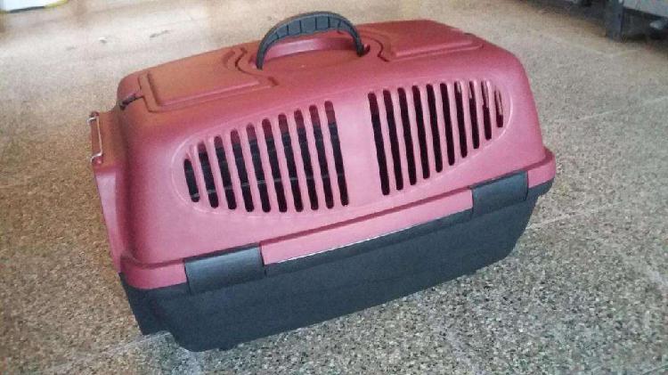 Jaula transportadora canil de plástico - para perros y