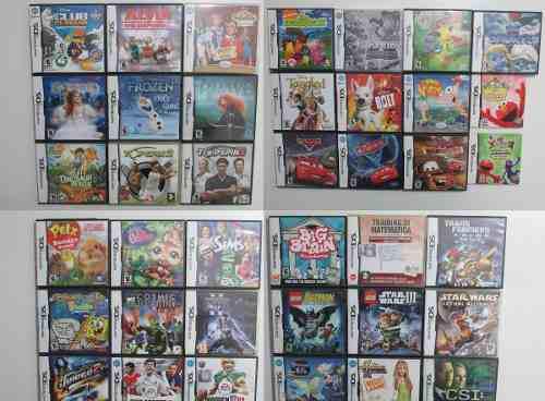 Lote x39 juegos originales para nintendo ds