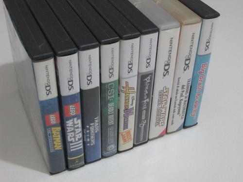 Lote x9 juegos originales para nintendo ds