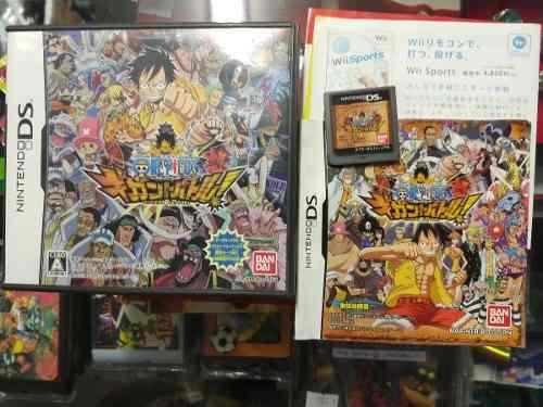 One piece japones juego nds - ronin store - rosario