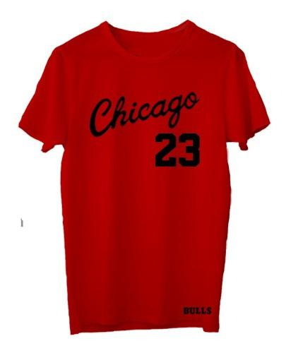 Remera basket nba chicago bulls (012) #23 michael jordan