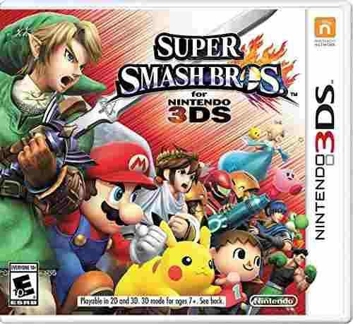 Super smash bros nintendo 3ds juego nuevo original fisico
