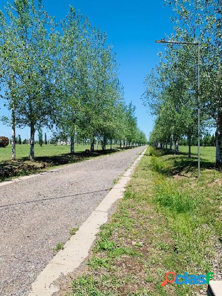 Vendo terreno financiado de 350 m2 en Piñero barrio Pinares del Sur 2