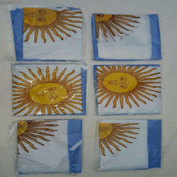 Bandera argentina 60 cm x 90 cm