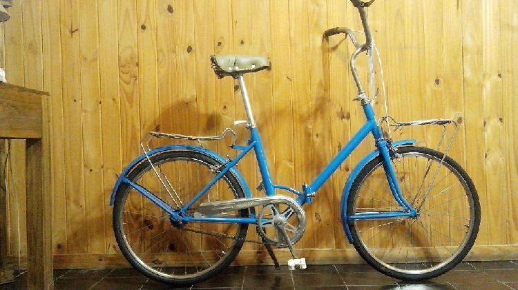 Bicicleta aurorita plegable antigua rodado 24