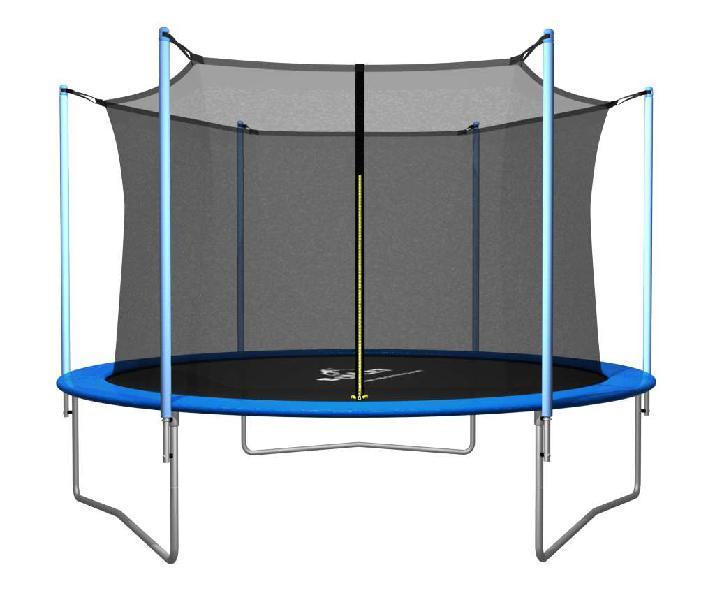 Cama elástica super reforzada 3,05 mts con red proteccion