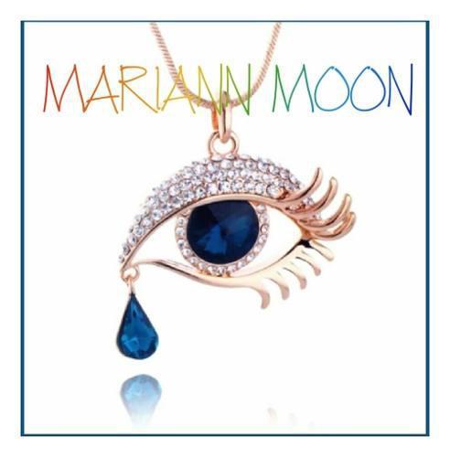 Colgante ojo betsey,celebritys mariann moon