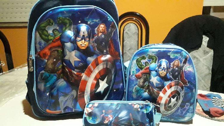Mochilas super heroes
