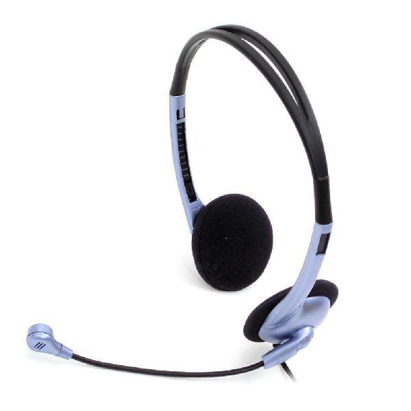 Auriculares genius hs-02b micrófono control vol - la plata