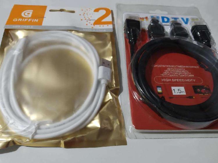 Cables hdmi distintas medias. consultar stock