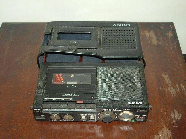 Grabador y reproductor de cassettes sony tcm5000