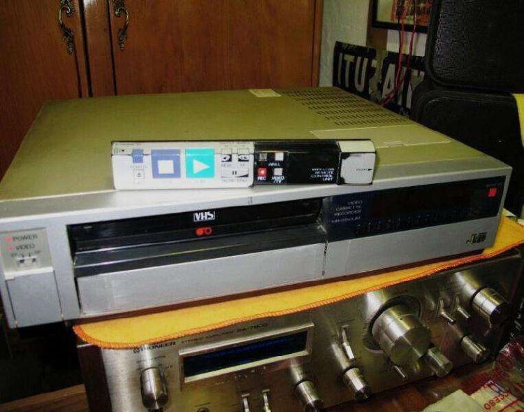 JVC HRD150UM Grabador / Reproductor VHS año 1986