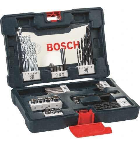 Juego set kit bosch 41 pzs accesorios | mechas madera metal