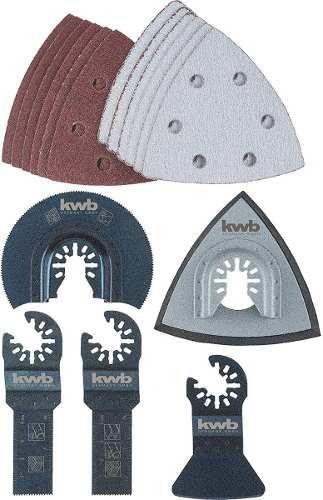 Kit set accesorios multicortadora oscilante makita bosch gop