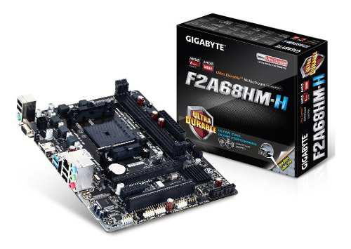 Mother fm2+ gigabyte (ga-f2a68hm-h)hdmi ddr3