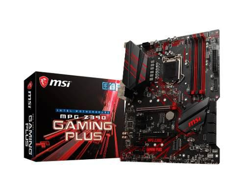 Motherboard msi mpg z390 gaming plus intel 9na 1151 mexx