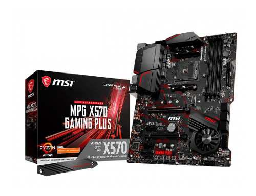 Motherboard msi x570 gaming plus amd am4 ddr4 usb 3 mexx 3
