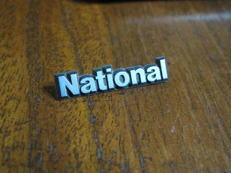 National vintage logo japan