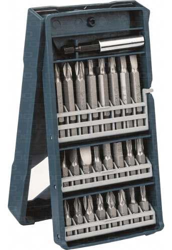 Set mini-x-line bosch 25 accesorios para taladro atornillar