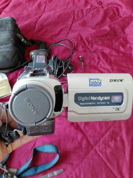 Video Cámara Sony Kit Completo
