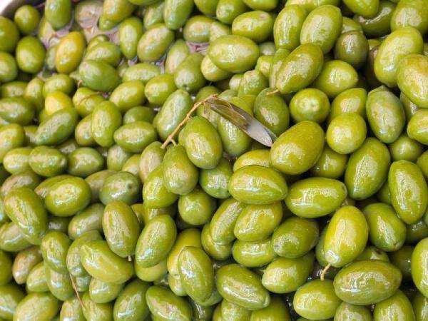 Aceitunas verdes en salmuera x 200 grs