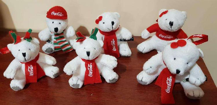 Colección completa navidad coca cola oso